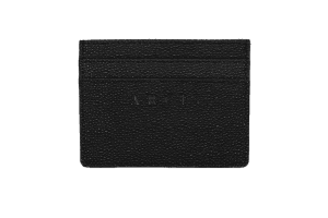 Arcis Card Holder branded leather front