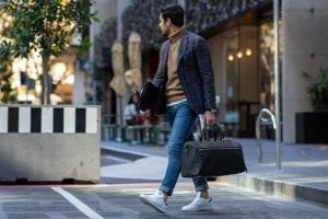 Arcis professional walking with leather bag