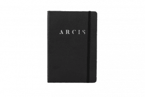 Arcis Notebook A5 Black Front
